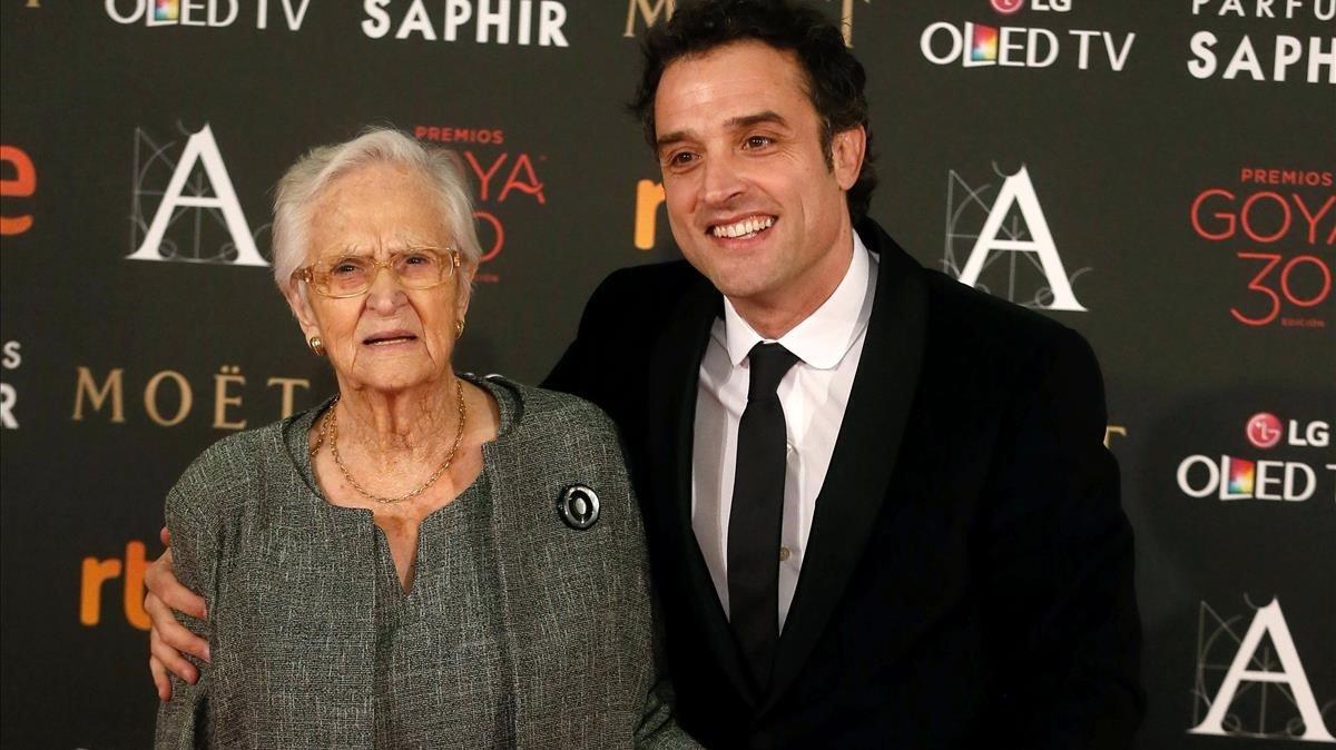 Ana Nominada Actriz Revelación Cine Porno muere la abuela del director daniel guzmán, nominada al goya