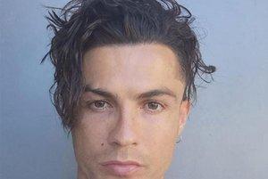 El nuevo peinado de Cristiano Ronaldo.