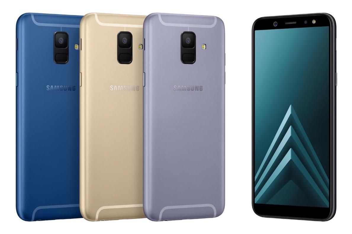 Nuevos Samsung serie A6