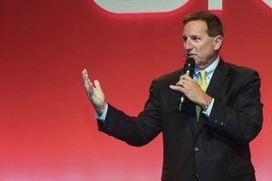150624 - Mark Hurd at Oracle Open World Keynote - Oracle Open World 2015 - Transamerica Expo Center - Keynote Hall - São Paulo/ SP - Brazil