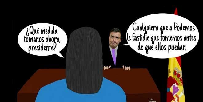 El humor gráfico de Juan Carlos Ortega del 18 de Junio del 2018
