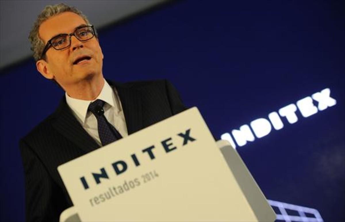 Pablo Isla, presidente de Inditex, en una imagen del 2015.