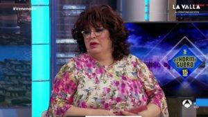Paca La Piraña en 'El hormiguero'.