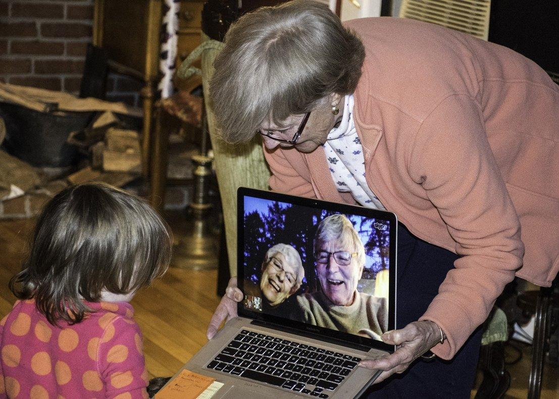 Las vídeollamadas se han convertido en la forma de comunicarse en cuarentena