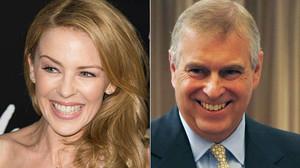 La prensa australiana asegura que la Minogue y el príncipe Andrés se han hecho inseparables.