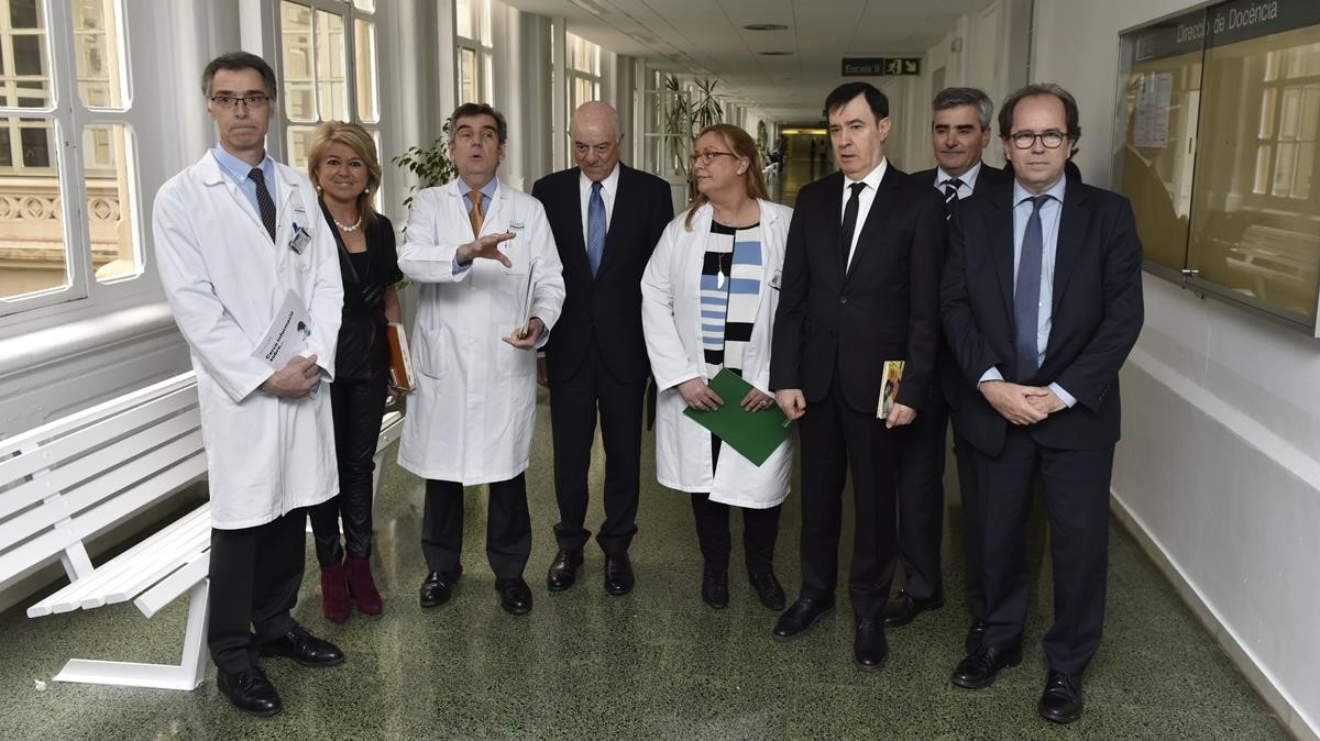Presentación de la web Portal Clínic, del Hospital Clínic de Barcelona.