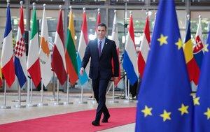 El presidente del Gobierno, Pedro Sánchez, en Bruselas en junio.