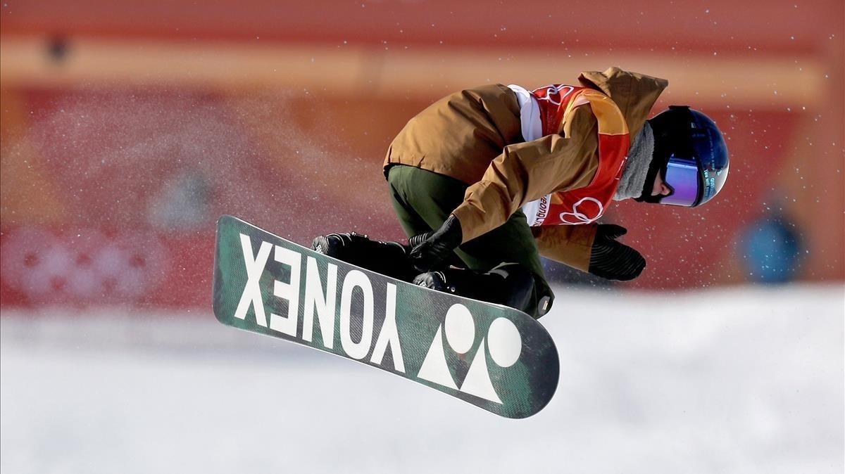 Queralt Castellet, en la final de los Juegos Olímpicos de Corea.