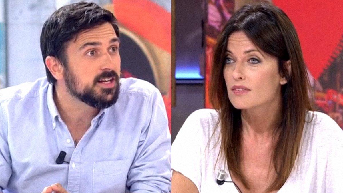 """Tensión en 'Cuatro al día' por la pregunta de Ramón Espinar a Cristina Seguí: """"¿Eres franquista?"""""""