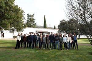 Todos los integrantes del Gobierno, reunidos en Quinto de Mora.