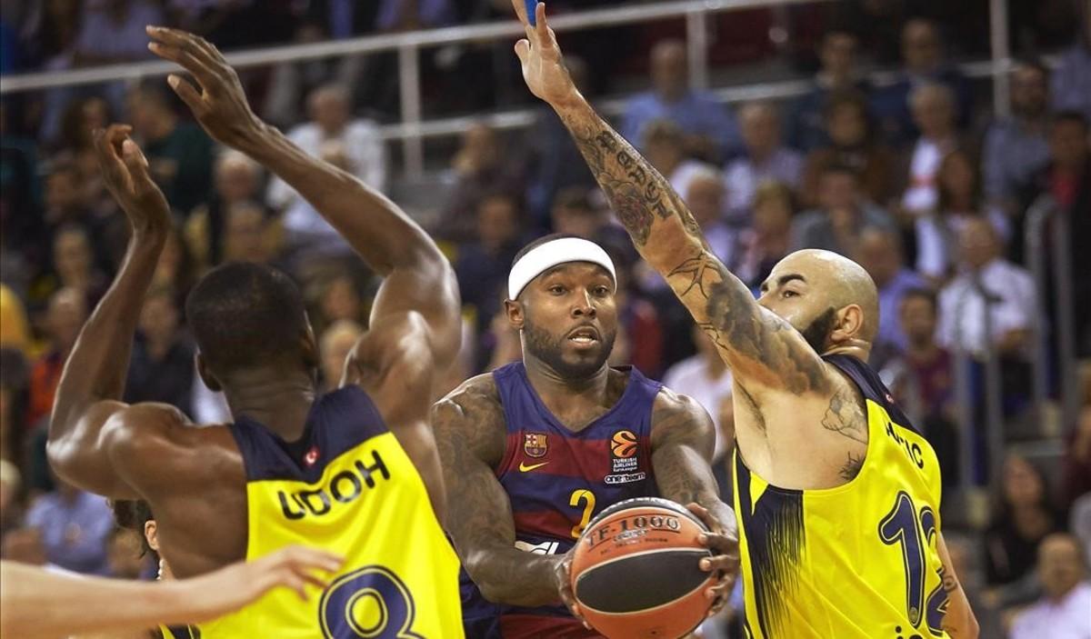 El Barça no puede con el Fenerbahçe