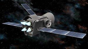 Ilustración de la sonda espacialBepiColombo