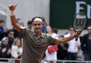 Federer, a punto de cumplir 38 años, ocupa el tercer lugar de la lista de la ATP.
