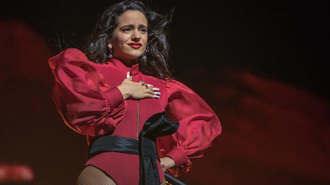 Rosalía deslumbra en su primer concierto en Barcelona.