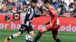 El Girona empata contra el Llevant i veu trencada la ratxa victoriosa a casa