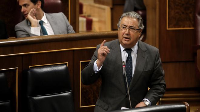 Gabriel Rufián ha tachado hoy de miserable e irresponsable al ministro del Interior.