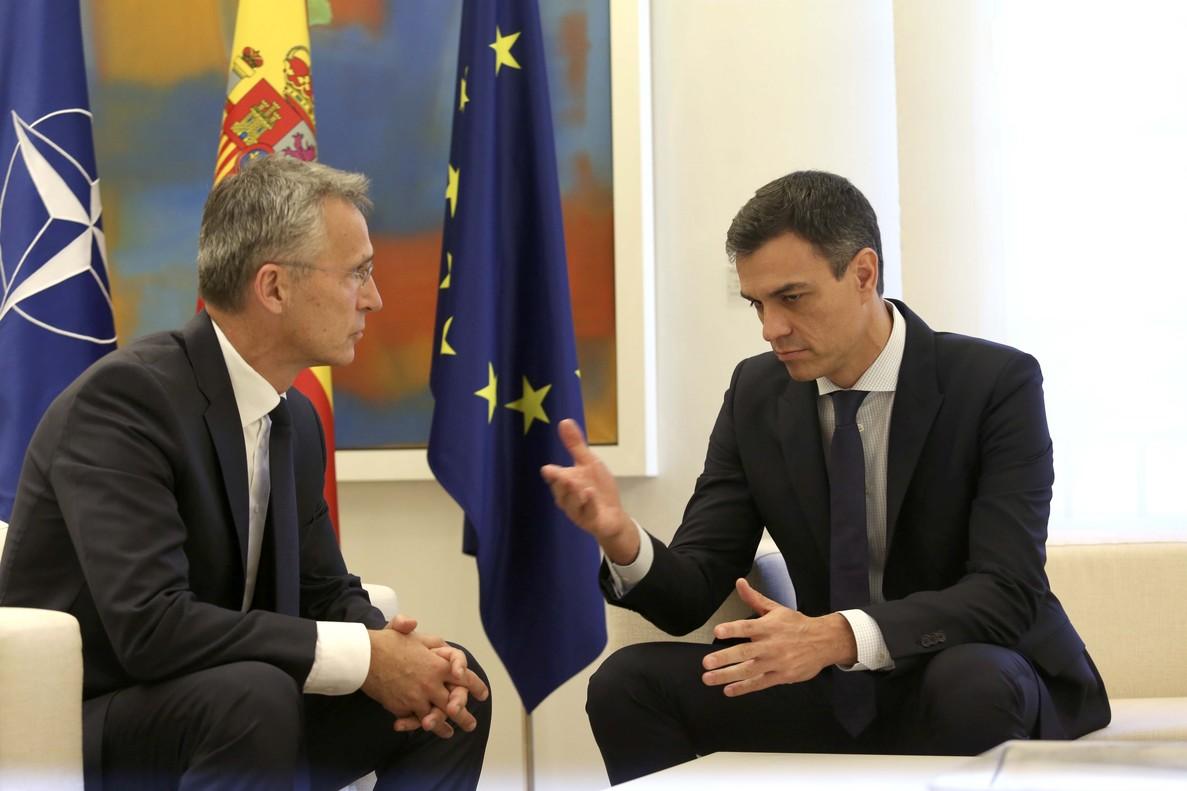 Sánchez elude el compromiso con el gasto en defensa que reclama Trump