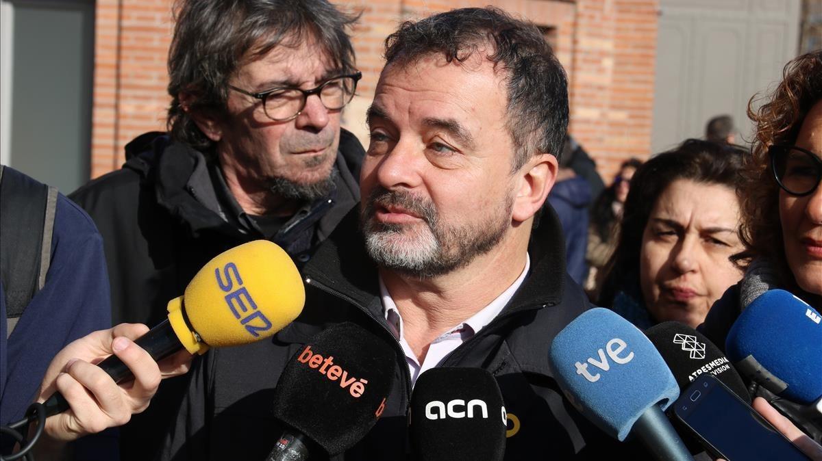 El 'conseller' de Acción Exterior de la Generalitat, Alfred Bosch.