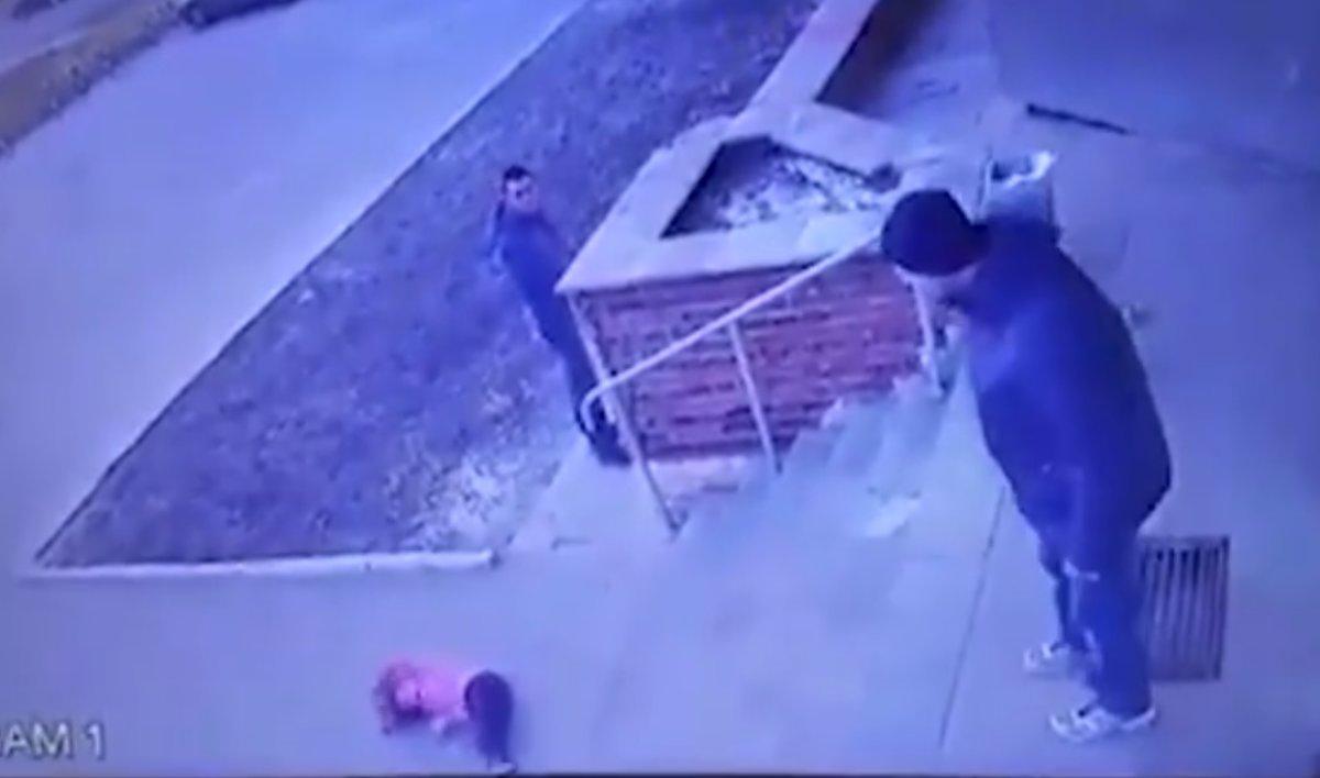 Gracias a la grabación la Policía pudo identificar al hombre.