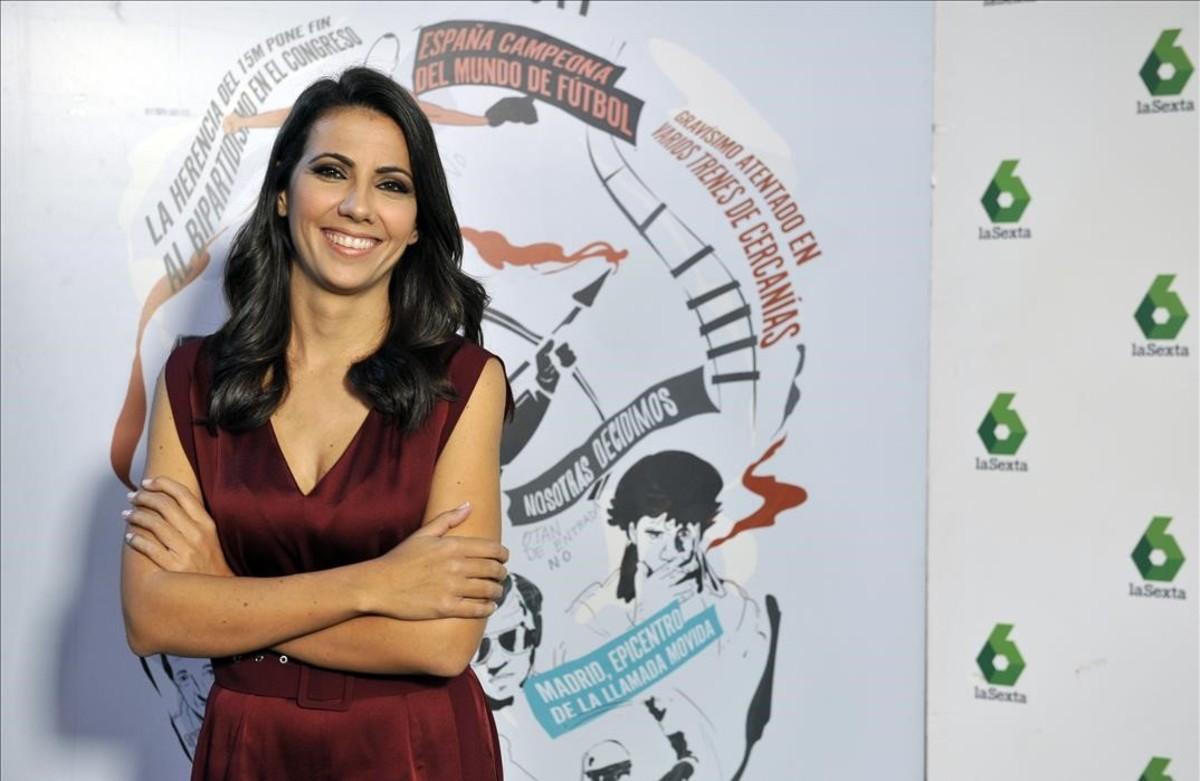 Ana Pastor, presentadora de '¿Dónde estabas entonces?' en La Sexta.
