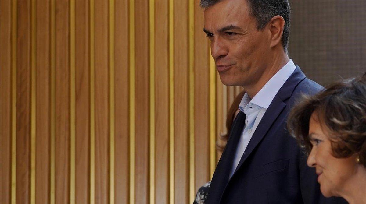 Calvo, abans de la reunió amb Podem: «No hi ha confiança entre nosaltres»