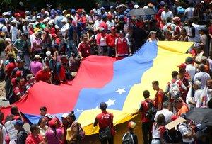 Manifestaciones y protestas en en Venezuela.