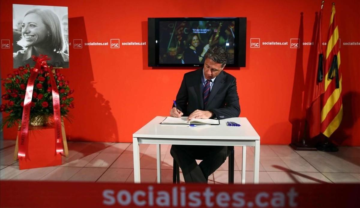 Xavier Garcia Albiol, presidente del PP catalán.