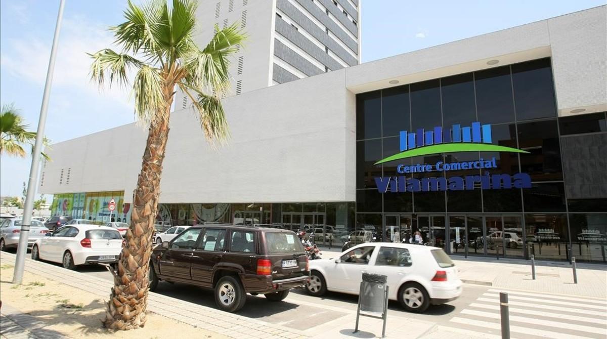 Centro comercial Vilamarina en Viladecans.