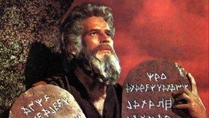 Charlton Heston, en 'Los diez mandamientos'.