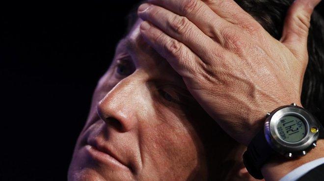 Lance Armstrong, en una imagen del 2010.