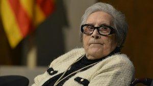 París dedicarà un carrer a Neus Català, supervivent dels camps nazis
