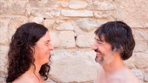 Ada Vilaró y Josep Perelló, responsables del espectáculo inaugural.