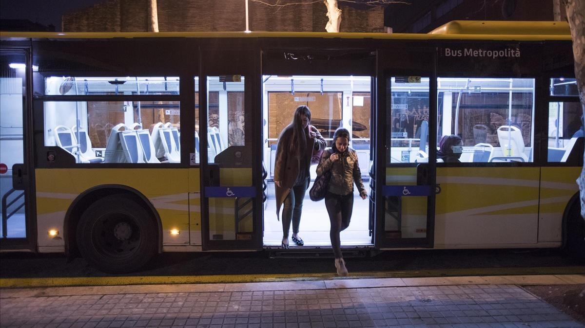 El Nitbus tindrà parades a demanda per a dones