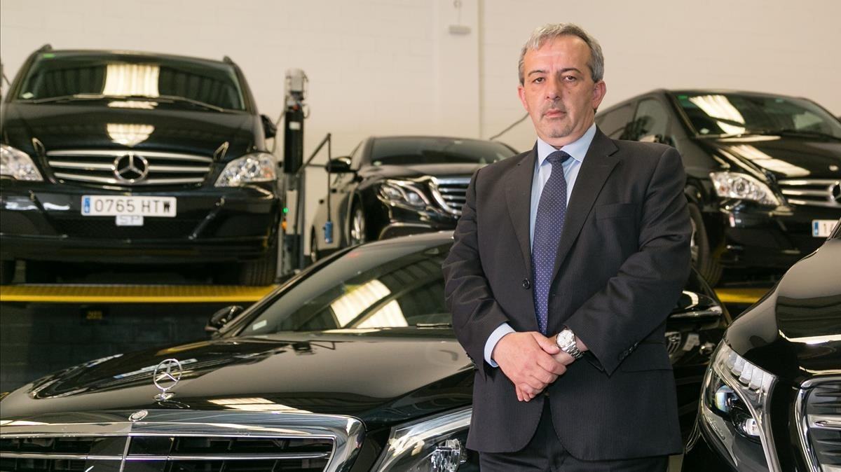 Manuel Sánchez, presidente de Luxury VTC.