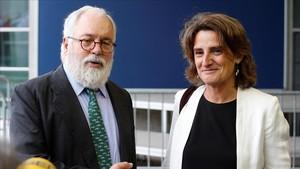 """Teresa Ribera: """"Espanya deixa de ser un llast per al canvi climàtic"""""""