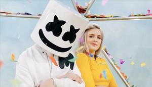 Anne-Marie y Marshmello.