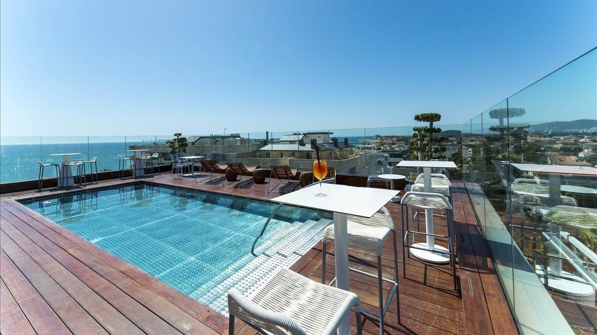 Així és l'hotel de Messi a Sitges