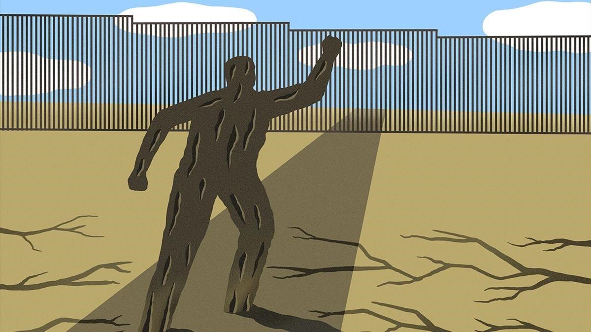 Caravana de migrantes y denuncia