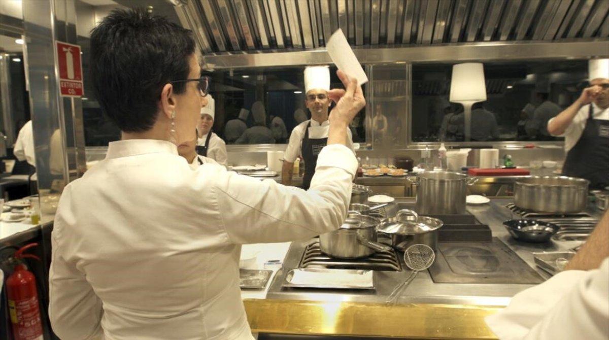 Carme Ruscalleda serveix el seu 'últim sopar' a TV-3