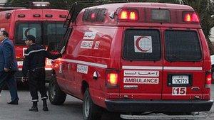 Servicio de ambulancias de Marruecos.