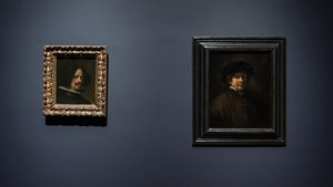 Rembrandt i Velázquez, aparellats a Amsterdam