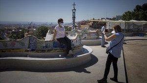 El Park Güell reduirà l'aforament al 50% i facilitarà l'accés als barcelonins