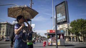 Arriba la primera onada de calor de l'estiu a Catalunya