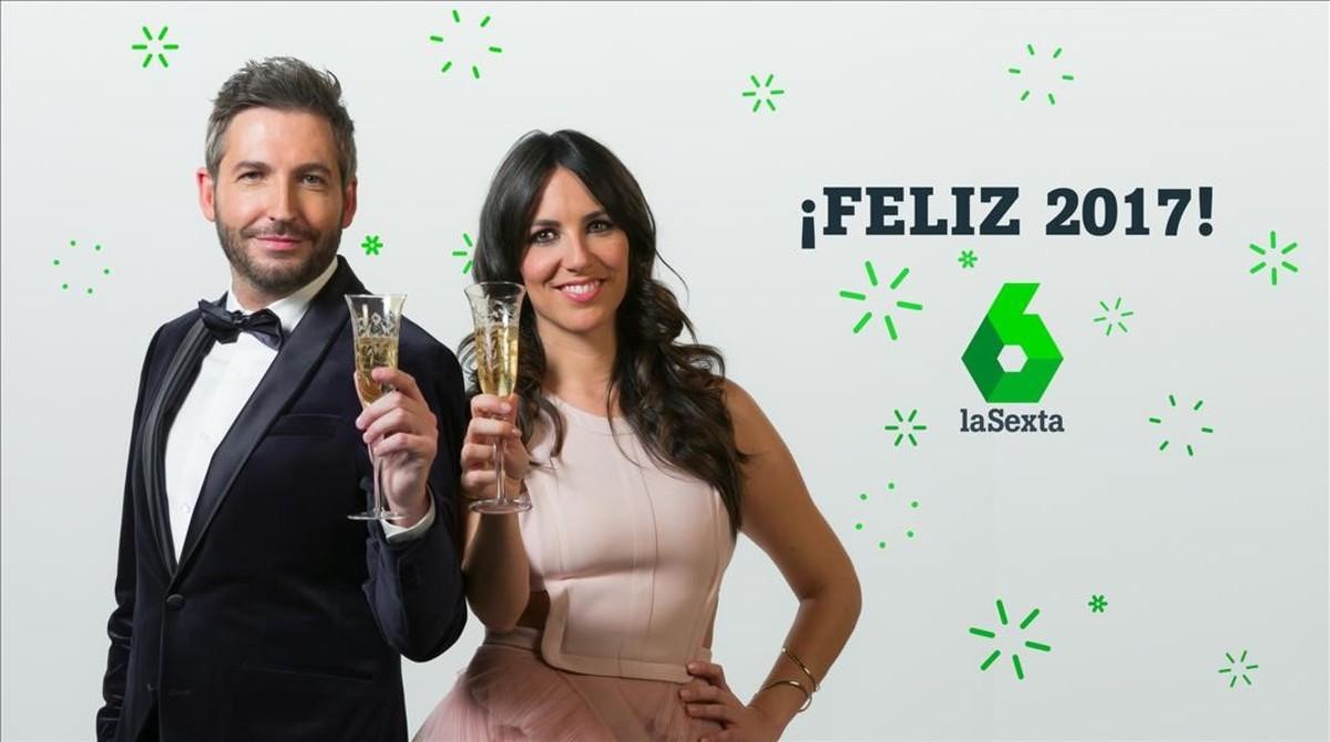 Frank Blanco e Irene Junquera dan las campanadas en La Sexta