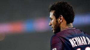 Neymar, durante un partido con el PSG.