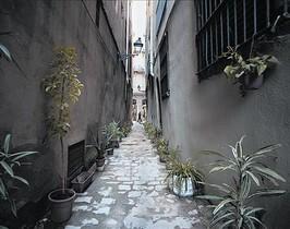 Calle de Perot lo Lladre, donde vivió este conocido bandido del siglo XVII.