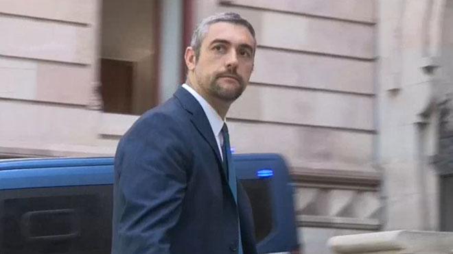 El alcalde de Agramunt, Bernat Soler, comparece ante TSJC acusado de desobediencia por impulsar el 1-O.