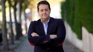Antoni Daimiel, este viernes en Madrid.