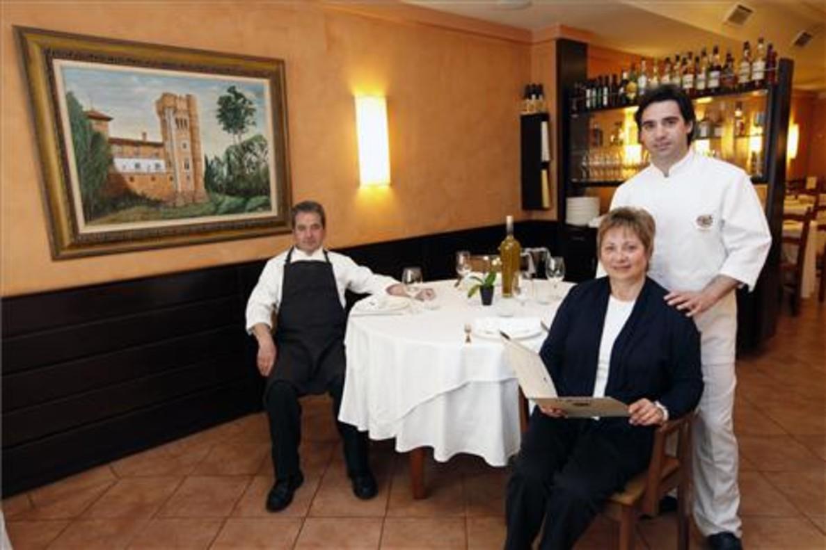 Antoni Villagrasa, Maria Isabel y Josep Maria FOTO: JOSEP GARCÍA