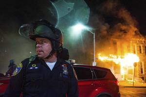 Disturbios en Baltimore.